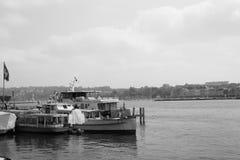 Geneva lake Arkivbild