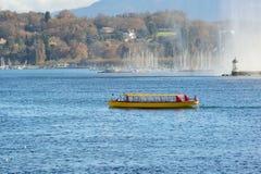 geneva lake Arkivfoton