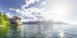 geneva lake royaltyfri foto