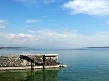 Geneva Lake Royalty Free Stock Images