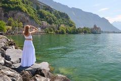 Geneva lake, Switzerland Stock Images