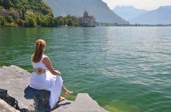 Geneva lake, Switzerland Royalty Free Stock Photography