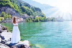 Geneva lake, Switzerland Royalty Free Stock Photo