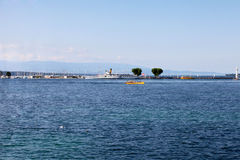 Geneva Lake Royalty Free Stock Images