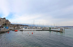 Geneva lake Stock Image