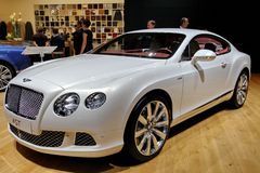 BENTLEY continental GT v8 Royalty Free Stock Photo