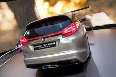 Break Honda Civic Tourer concept Royalty Free Stock Images
