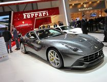 Ferrari f12 Berlinetta Stock Photography