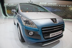 Geneva motor-show 2011 Stock Images
