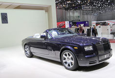 Rolls Royce Phantom Drophead Coupe Stock Photos