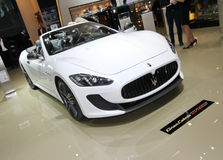 Maserati Grancabrio MC Stock Photos