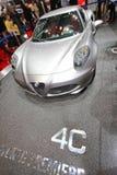 Alfabetisk Romeo 4C Royaltyfria Bilder