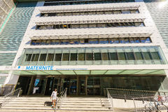 Geneva Maternity Hospital, Switzerland Royalty Free Stock Image