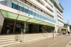 Geneva Maternity Hospital, Switzerland Royalty Free Stock Photography