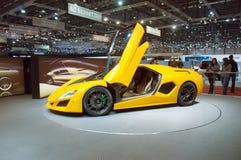 Geneva Motor Show 2009 - Frazer Nash Namir Stock Image