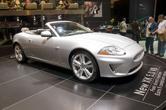Geneva Motor Show 2009 - Jaguar XK 5.0 V8 Stock Photography