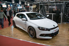 Geneva Motor Show 2009 - Tuned Volkswagen Scirocco Stock Photo