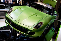 Geneva Motor Show 2010 Stock Photography