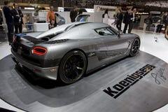 Geneva Motor Show 2010 Royalty Free Stock Image