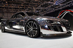 Geneva Motor Show 2011 – ABT R8. ABT R8 car on display at the 81th edition of the annual Geneva Motor Show in Switzerland. This is one of the most royalty free stock photography