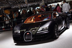 Geneva Motor Show 2011 – Bugatti Super Sport Stock Photography