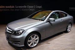 Geneva Motor Show 2011 – Class C Coupè 2011 stock images