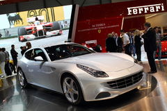 Geneva Motor Show 2011 – Ferrari FF. Ferrari FF car on display at the 81th edition of the annual Geneva Motor Show in Switzerland. This is  one of the most Royalty Free Stock Image