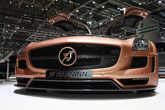 Geneva Motor Show 2011 – Hamann SLS. Hamann SLS  car on display at the 81th edition of the annual Geneva Motor Show in Switzerland. This is  one of the most Stock Photography