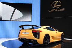Geneva Motor Show 2011 – LFA Nurburgring Package Royalty Free Stock Photography