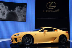 Geneva Motor Show 2011 – LFA Nurburgring Package Stock Photos