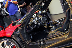 Geneva Motor Show 2011 – Pagani Huayra Royalty Free Stock Photos