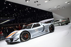 Geneva Motor Show 2011 – Porsche 918 RSR Royalty Free Stock Photography