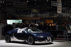 Geneva Motor Show 2011 – Bugatti Grand Sport Stock Photo