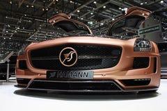 Geneva Motor Show 2011 – Hamann SLS Stock Photography