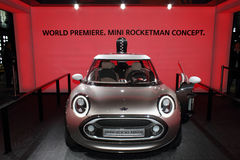 Geneva Motor Show 2011 – MINI Rocketman concept Royalty Free Stock Photo