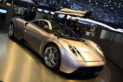 Geneva Motor Show 2011 – Pagani Huayra Royalty Free Stock Photography