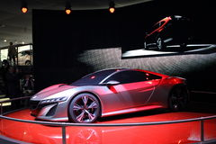 Geneva Motor Show 2012 – Honda NSX Concept Royalty Free Stock Photos