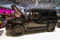 Geneva Motor Show Stock Images