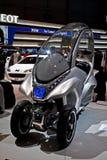 Geneva motor-show. Peugeot. Stock Photo