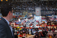 The Geneva Motor Show 2015 Switzerland Stock Photography