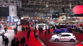 Geneva Motor Show Royalty Free Stock Photo