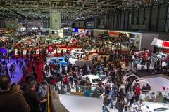 Geneva Motor Show Royalty Free Stock Photos