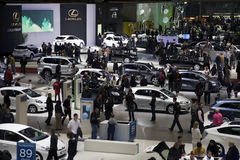 Geneva Motorshow 2009 Royalty Free Stock Photography