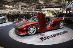 Geneva Motorshow 2009 - Koeningsegg CCX Stock Photography