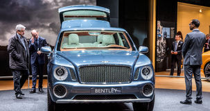Geneva Motorshow 2012 - Bentley EXP-9 Royalty Free Stock Image