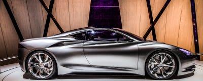 Geneva Motorshow 2012 - Infiniti Emerg-E Royalty Free Stock Photos