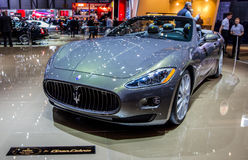 Geneva Motorshow 2012 - Maserati GranCabrio Stock Photo