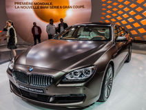 Geneva Motorshow 2012 - New BMW 6 Series Stock Photo