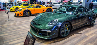 Geneva Motorshow 2012 -Ruf Rt-35 Royalty Free Stock Photo