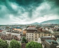 Geneva Old Town Royalty Free Stock Photo